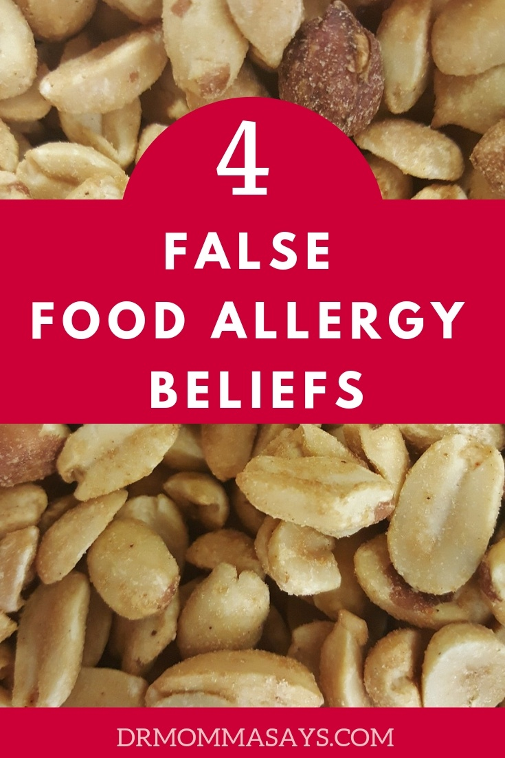 Dr. Burton discusses 4 false food allergy beliefs that lead people to overly treat symptoms out of fear that a life-threatening allergic reaction will occur.
