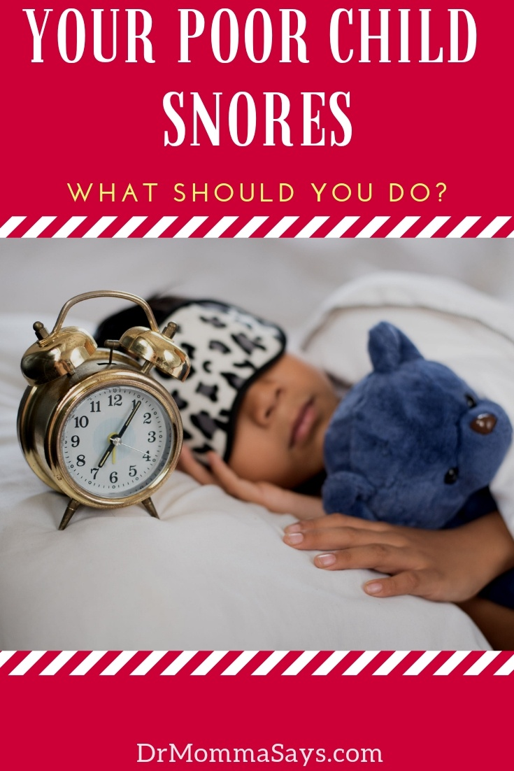 Dr. Burton discusses what it means when a child snores and shares the varying locations of respiratory tract narrowing that causes the problem.