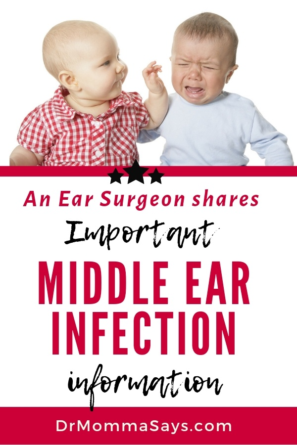 Dr. Burton shares an overview about ear infections but specifically highlights the middle ear infection and shares valuable take home messages for parents.