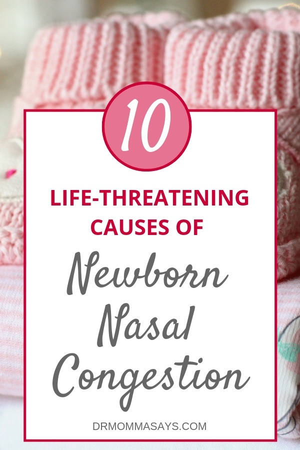 Dr. Burton discusses the importance of nasal breathing in babies and highlights 10 potentially life-threatening causes of newborn nasal congestion.