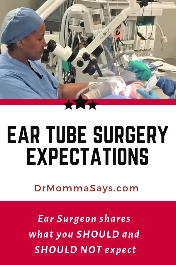 Dr. Burton shares her 30 years as an ENT surgeon and highlights important things to expect (and not to expect) from ear tube surgery.