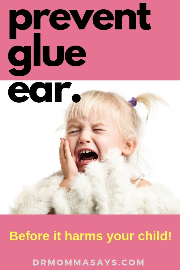 Dr. Burton discusses the methods to treat glue ear but then highlights the importance of finding a way to prevent glue ear from recurring.