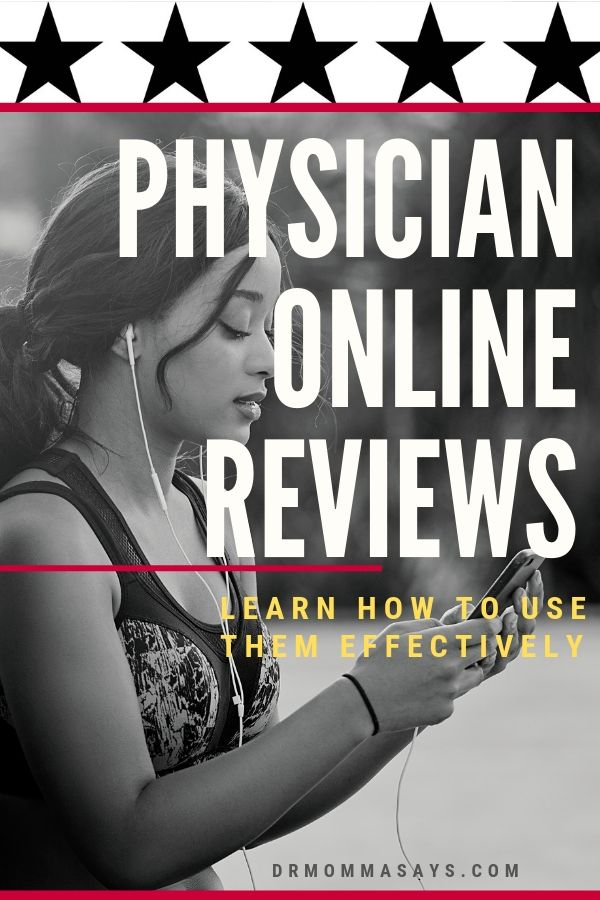 Dr. Burton educates the public about the value of physician online reviews and highlights why they are NOT a good way to choose a physician