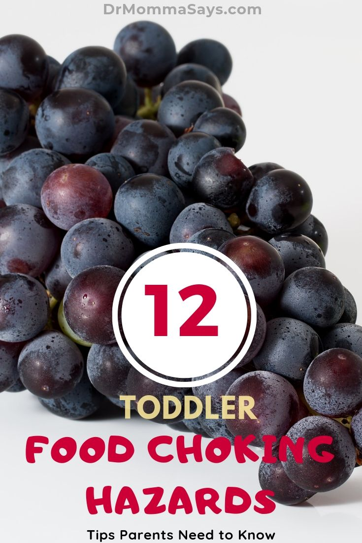 Dr. Burton shares the top 12 reasons food choking hazards for kids and discusses how to prevent and treat the emergencies if they occur.