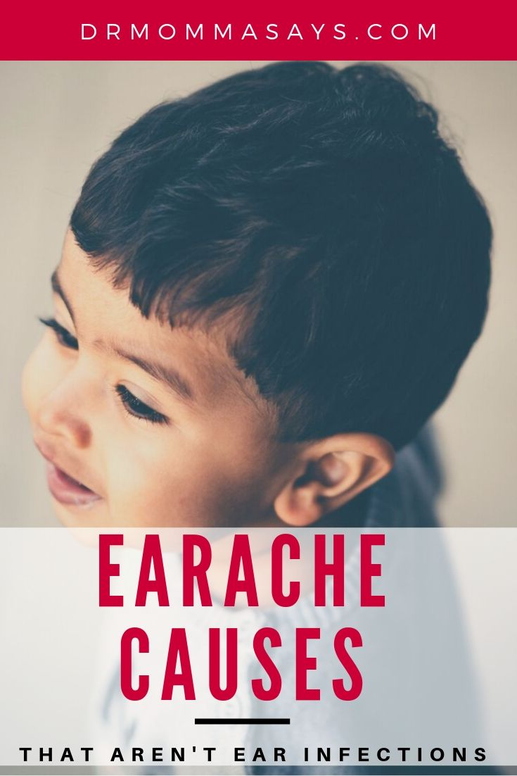 Dr. Burton shares the many different earache causes that are not due to ear infections and emphasizes it can be hard to determine degree of pain in kids.
