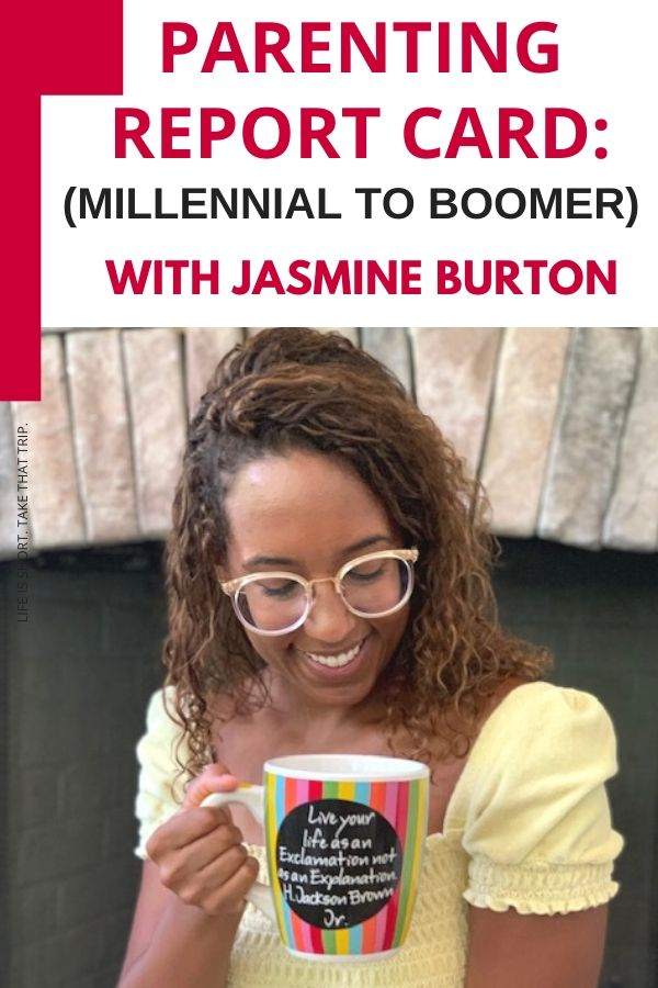 Dr. Burton hosts the first podcast interview episode with her oldest daughter, Jasmine Burton, and shares her parenting report card.