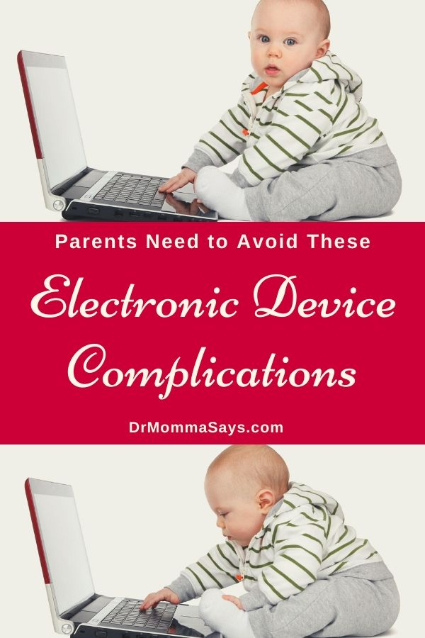 Dr. Burton discussed some potential electronic device complications that may occur when young kids are allowed excess screen time during development.